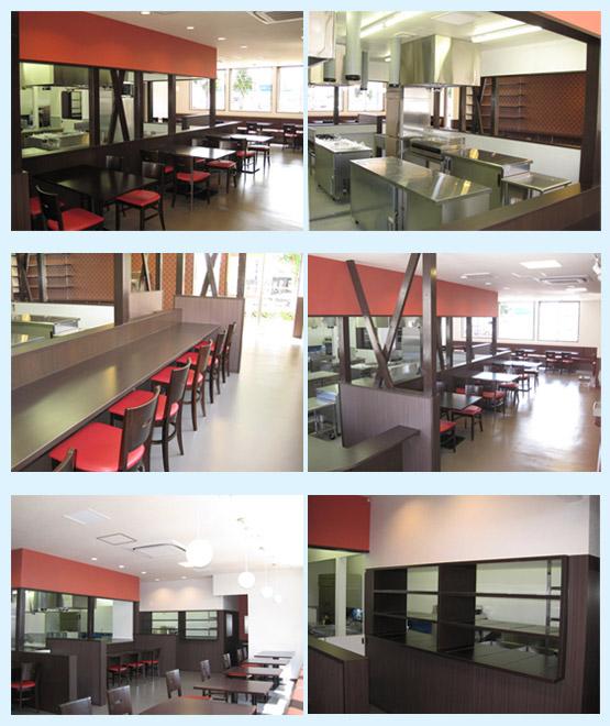 レストラン・イタリアン・フレンチ 内装工事の施工例8
