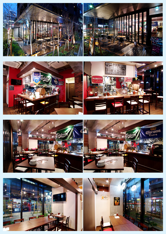 レストラン・イタリアン・フレンチ 内装デザイン事例32