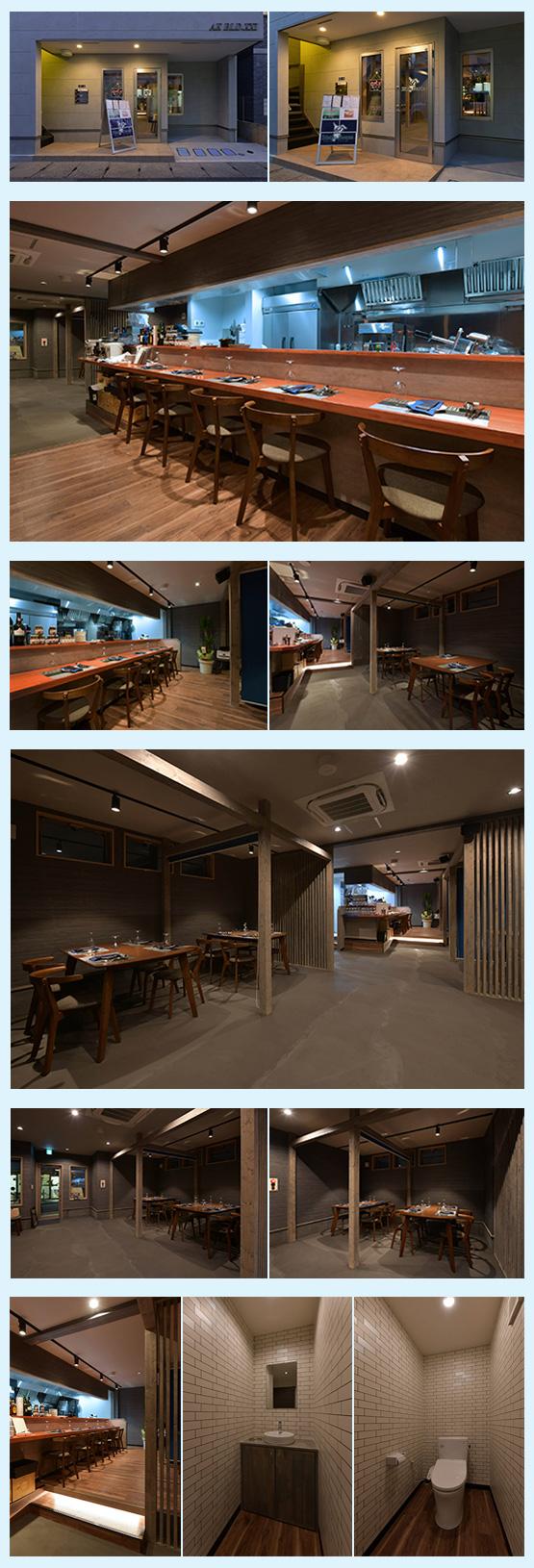 レストラン・イタリアン・フレンチ 内装デザイン事例7