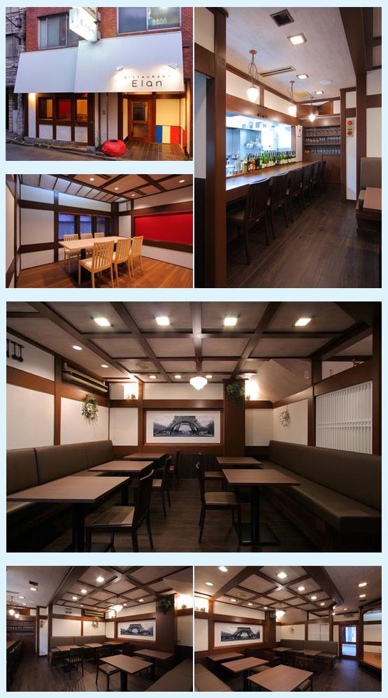 レストラン・イタリアン・フレンチ 内装デザイン事例10