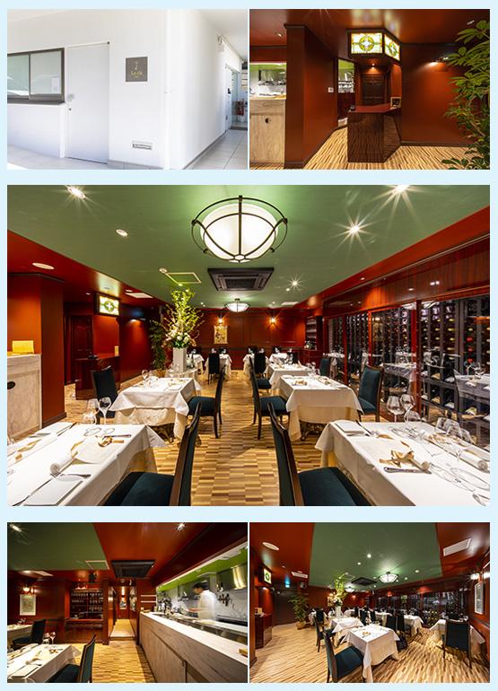 レストラン・イタリアン・フレンチ 内装デザイン事例17
