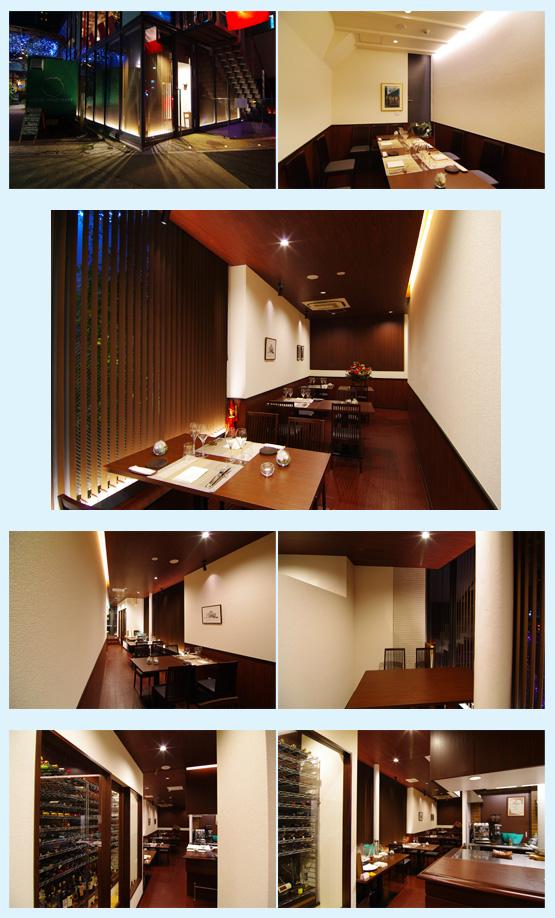レストラン・イタリアン・フレンチ 内装デザイン事例16