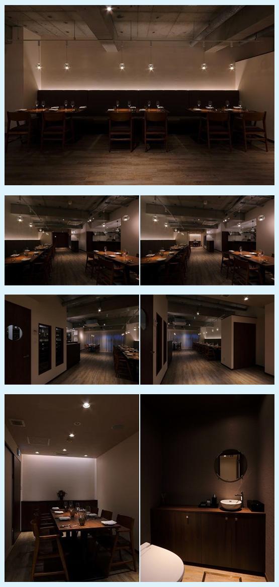 レストラン・イタリアン・フレンチ 内装デザイン事例24