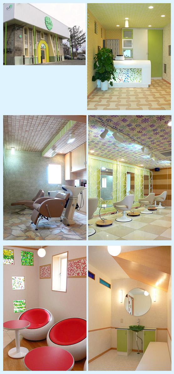 美容室・サロン・エステ 内装工事の施工例4