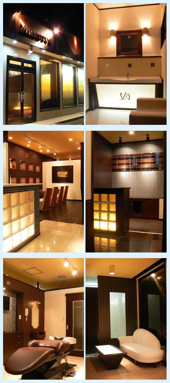 美容室・サロン・エステ 内装工事の施工例6