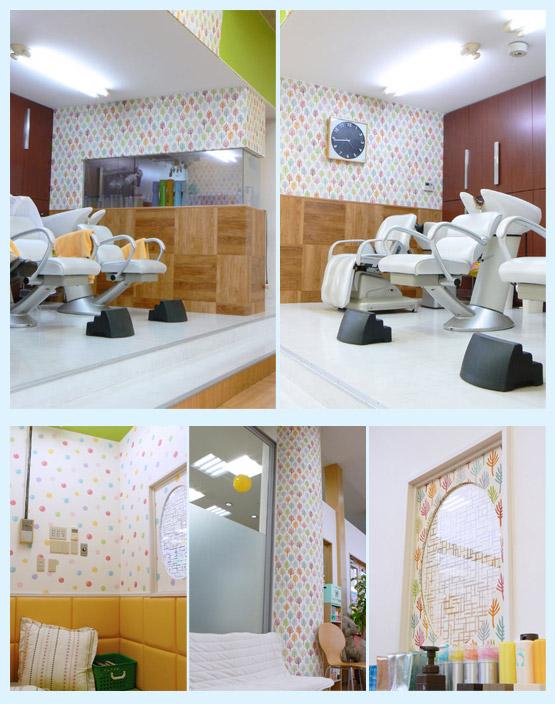 美容室・サロン・エステ・ネイル 内装工事の施工例16