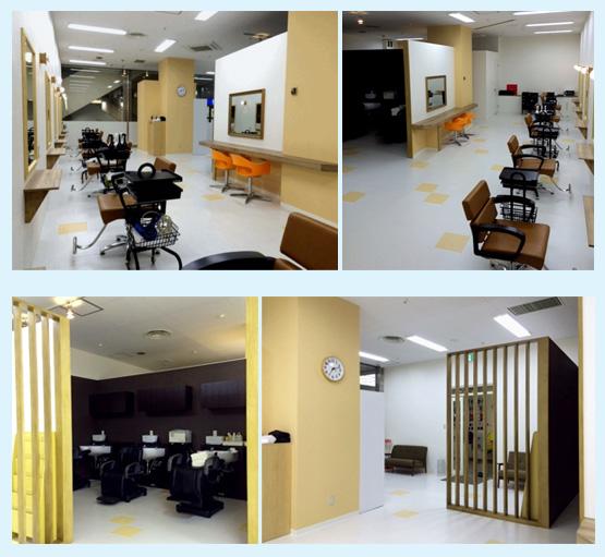 美容室・サロン・エステ・ネイル 内装工事の施工例48