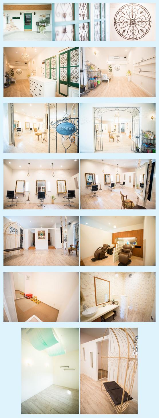 美容室・サロン・エステ・ネイル 内装工事の施工例51