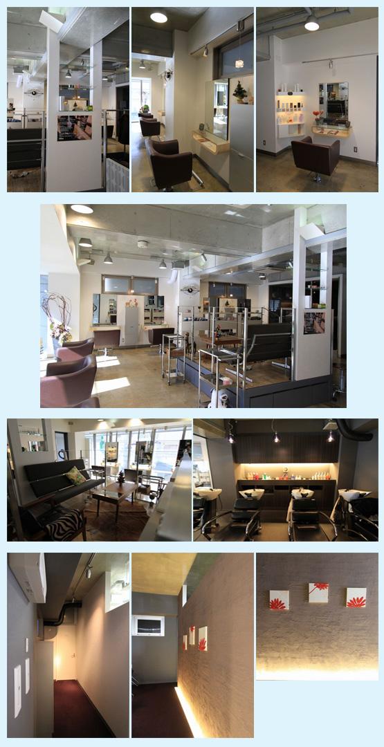 美容室・サロン・エステ・ネイル 内装工事の施工例53
