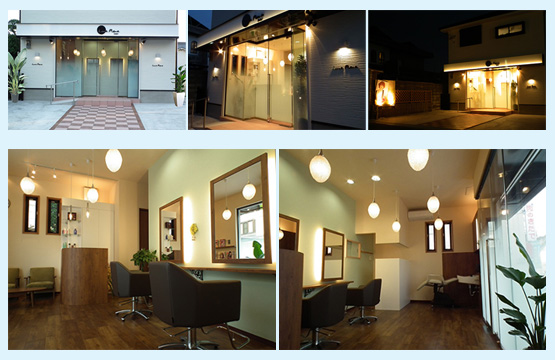 美容室・サロン・エステ 内装デザイン事例109