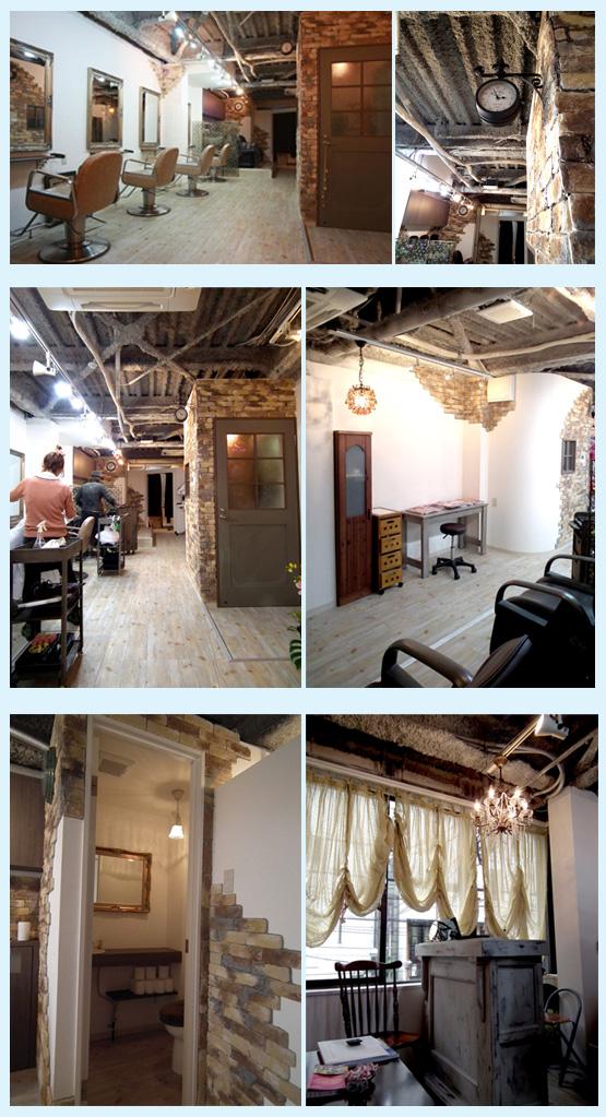 美容室・サロン・エステ・ネイル 内装工事の施工例68