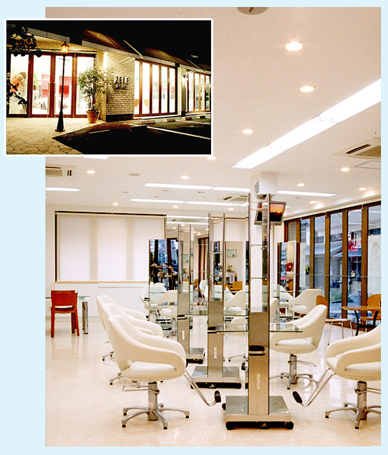 美容室・サロン・エステ 内装デザイン事例108