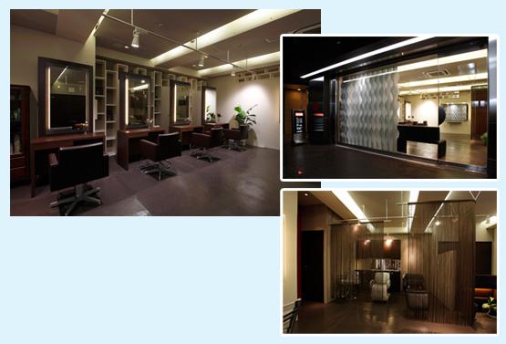 美容室・サロン・エステ 内装工事の施工例25