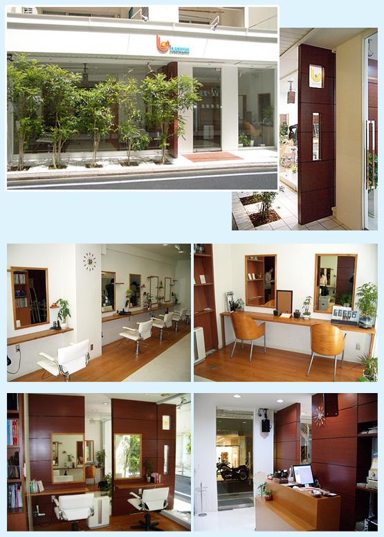 美容室・サロン・エステ 内装工事の施工例1