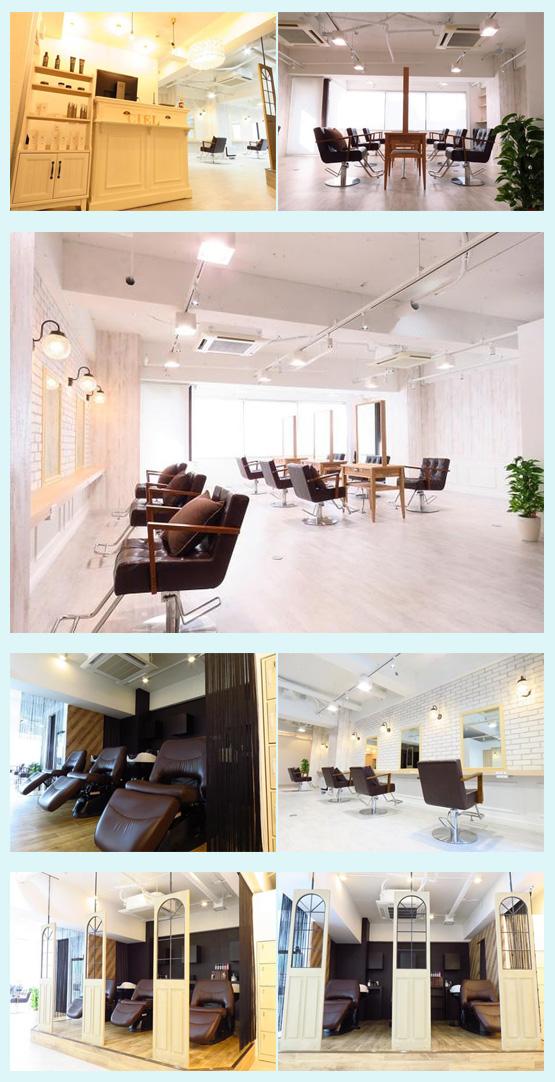美容室・サロン・エステ 内装デザイン事例23