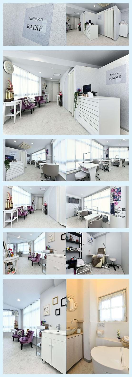 美容室・サロン・エステ 内装デザイン事例30
