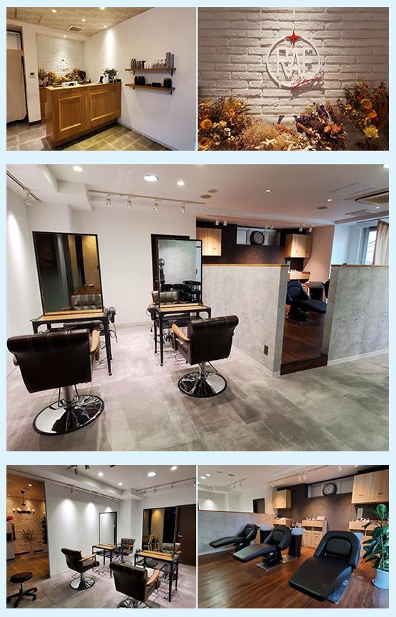 美容室・サロン・エステ 内装デザイン事例7