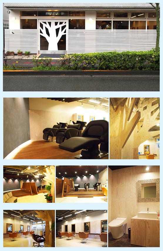 美容室・サロン・エステ・ネイル 内装工事の施工例55