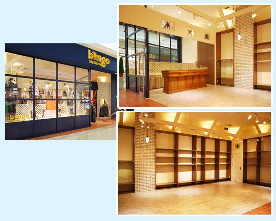 アパレル・ショップ・物販店 内装工事の施工例12