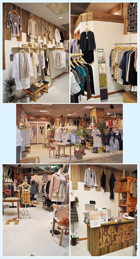アパレル・ショップ・物販店 内装デザイン事例23