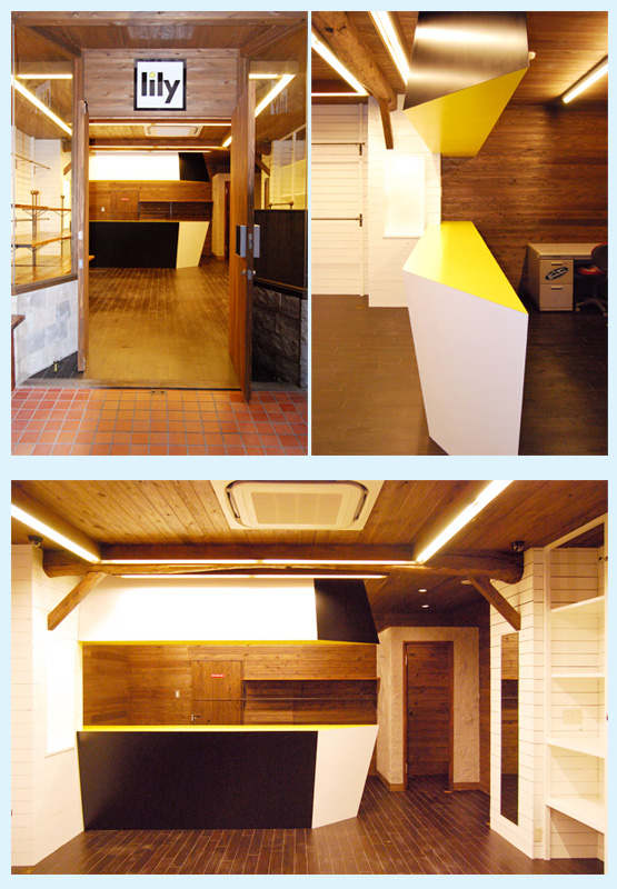 アパレル・ショップ・物販店 内装工事の施工例9