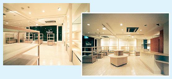 物販店・アパレル・ショップ 内装工事の施工例46