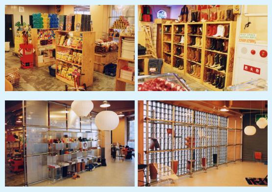アパレル・ショップ・物販店 内装デザイン事例64