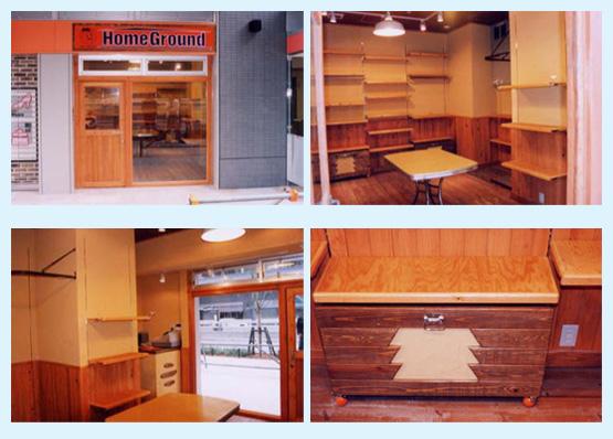 物販店・アパレル・ショップ 内装工事の施工例50