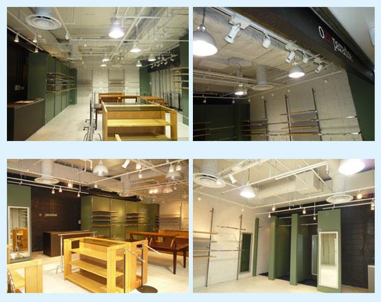 物販店・アパレル・ショップ 内装工事の施工例21