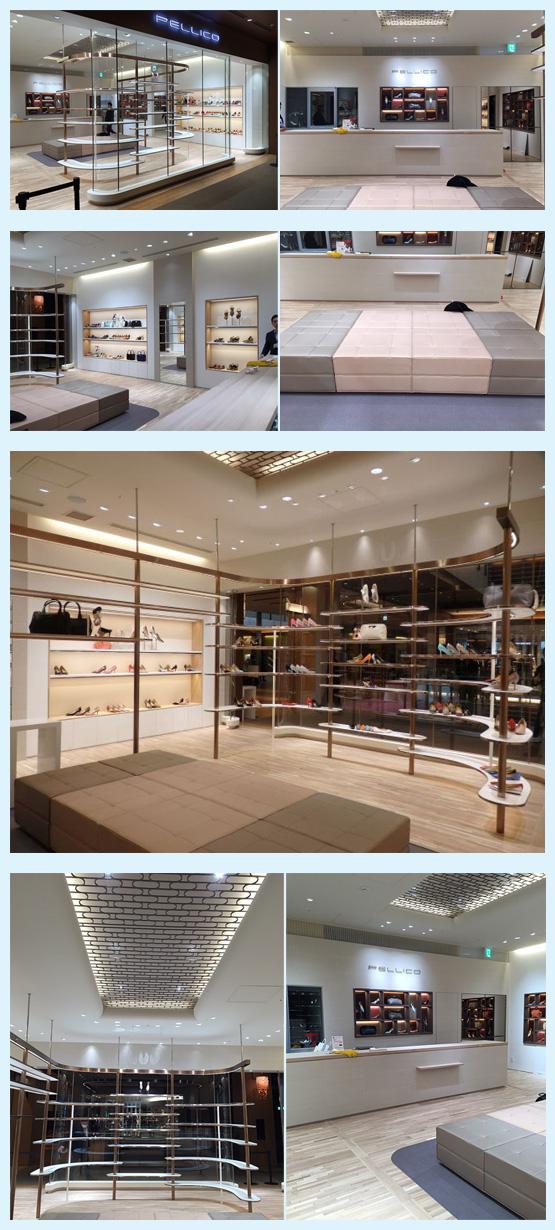 アパレル・ショップ・物販店 内装デザイン事例4