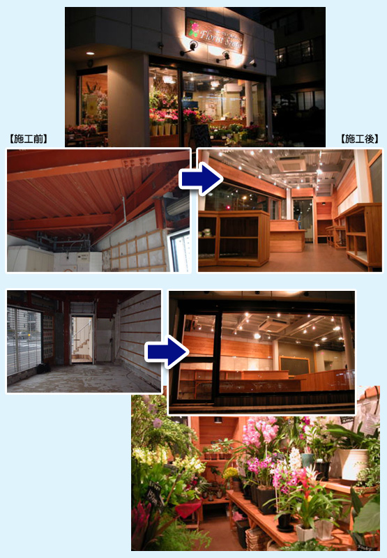 物販店・アパレル・ショップ 内装工事の施工例29