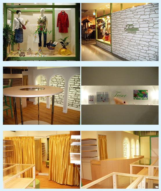 アパレル・ショップ・物販店 内装工事の施工例1