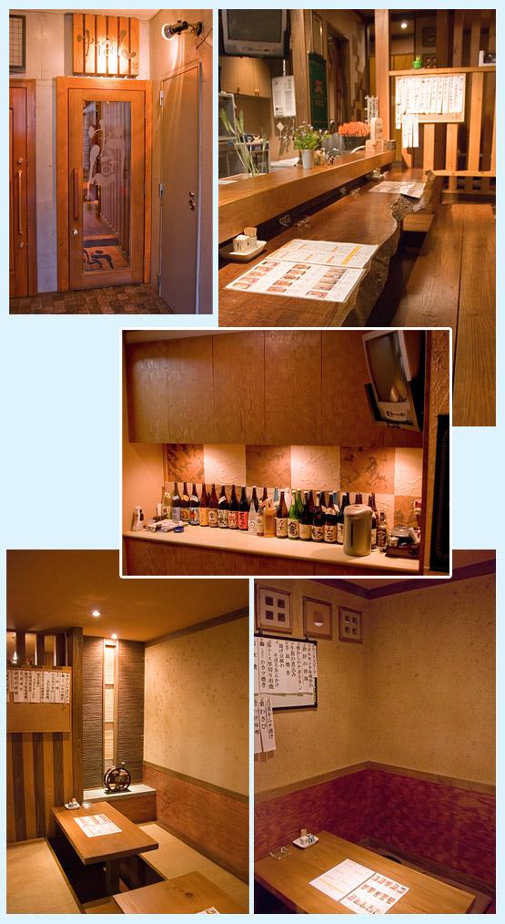 居酒屋・焼鳥・串焼き 内装工事の施工例8
