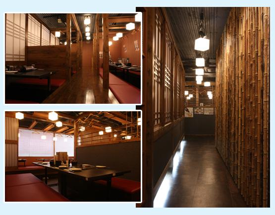 居酒屋・焼鳥・串焼き 内装工事の施工例21