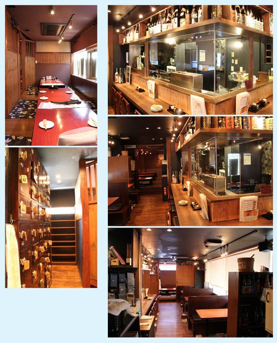 居酒屋・焼鳥・串焼き 内装工事の施工例39