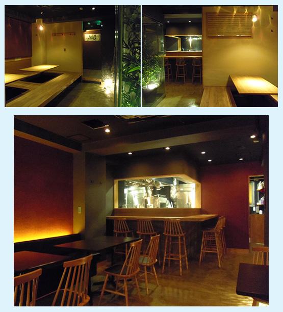 居酒屋・焼鳥・串焼き 内装工事の施工例27