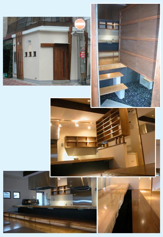 居酒屋・焼鳥・串焼き 内装工事の施工例16