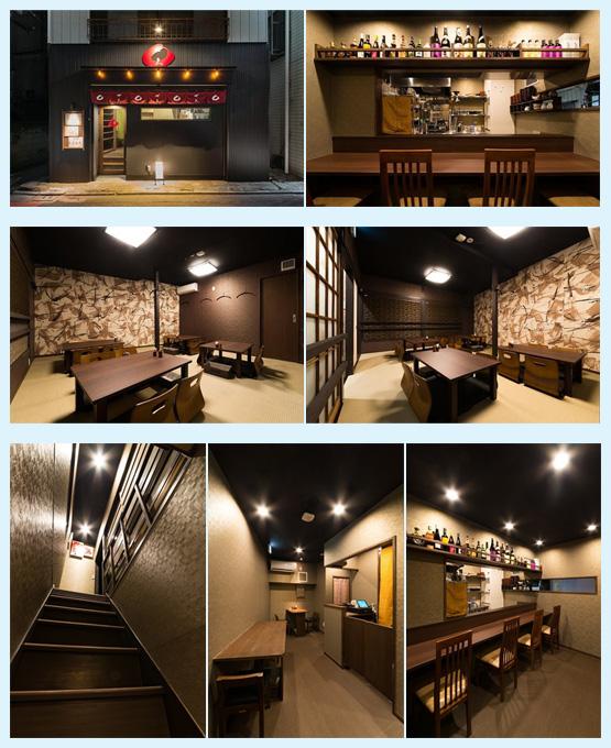 居酒屋・焼き鳥屋・串焼き屋 内装デザイン事例26