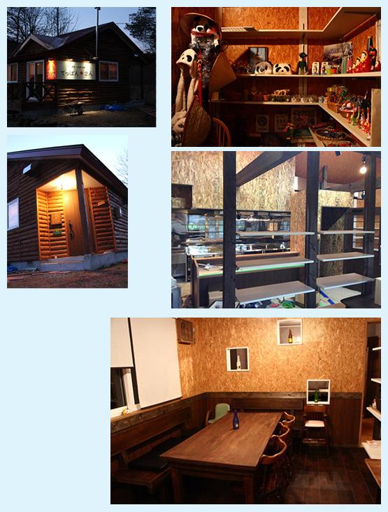 鉄板焼き・焼肉店・お好み焼き 内装工事の施工例11