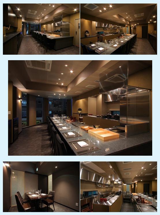 焼肉屋・鉄板焼き店・お好み焼き屋 内装デザイン事例6