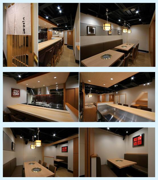 焼肉屋・鉄板焼き店・お好み焼き屋 内装デザイン事例8