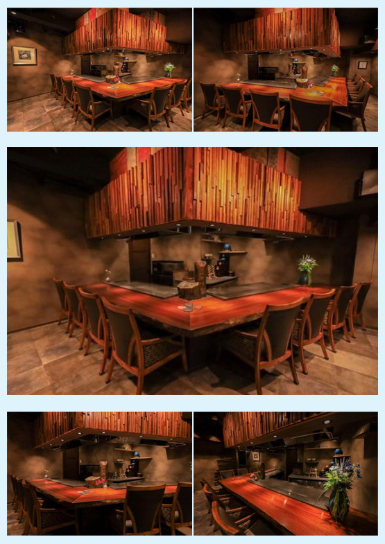 焼肉屋・鉄板焼き店・お好み焼き屋 内装デザイン事例15