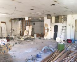 店舗の原状回復工事